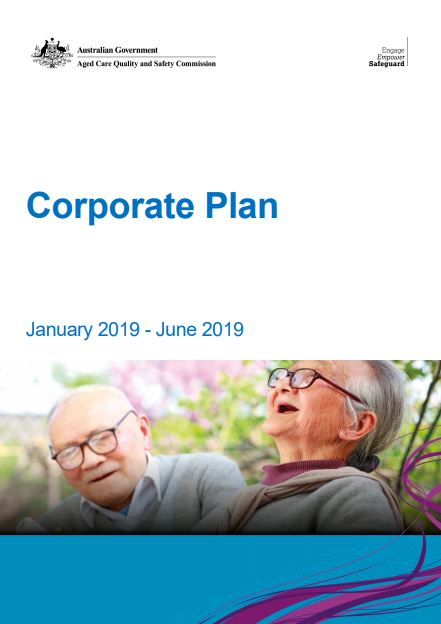 Cover Image Corporate Plan Jan-Jun 2019