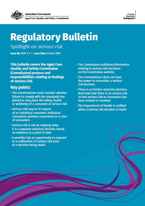 Cover image Regulatory Bulletin PDF