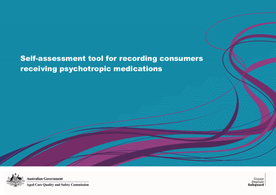 Cover image of self-assessment tool for psychotropic medication use