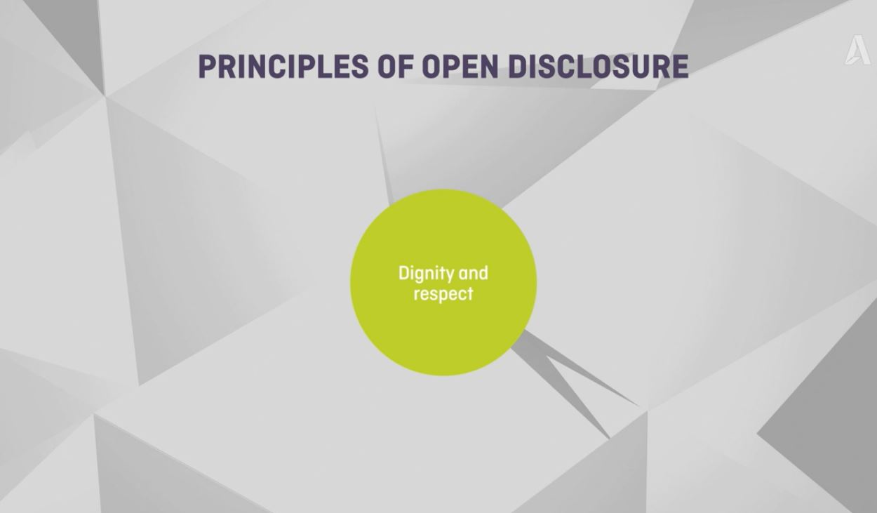 Open disclosure video thumbnail picture