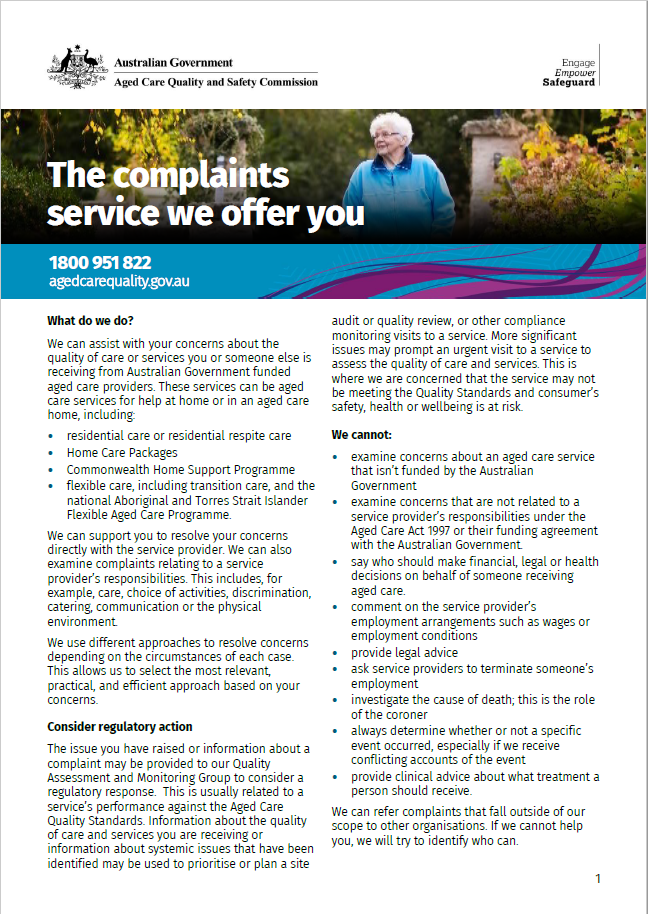Complaints service we offer thumbnail