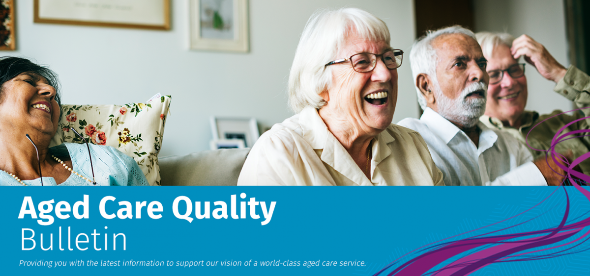 Header image_Aged Care Quality Bulletin newsletter